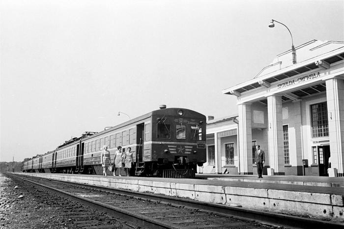 Советские аккумуляторные электропоезда Железная Дорога, Поезд, Аккумулятор, Длиннопост