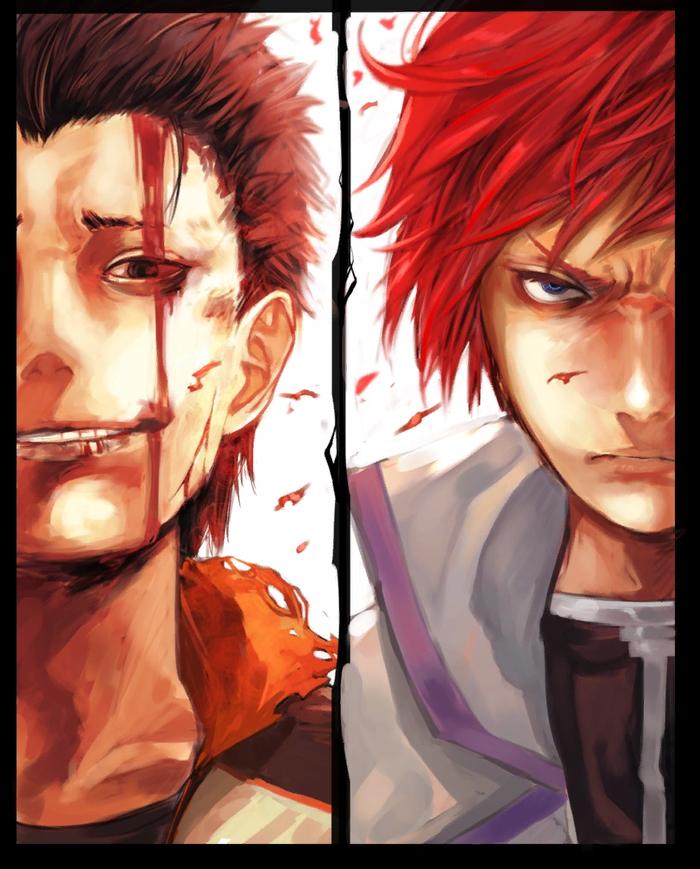 """Альтернативный Субару. """"Путь тёмного героя"""" Аниме, Anime art, Re:Zero kara, Natsuki subaru, Райнхард Ван Астрея"""