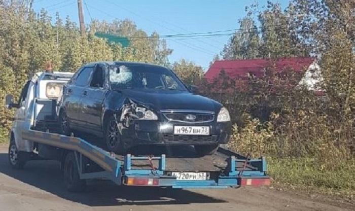 Обнаружили приору убийцы, который убил 14- летнюю девочку Ульяновск, Ульяновская область, ДТП, Помощь, Больной ублюдок, Детоубийство