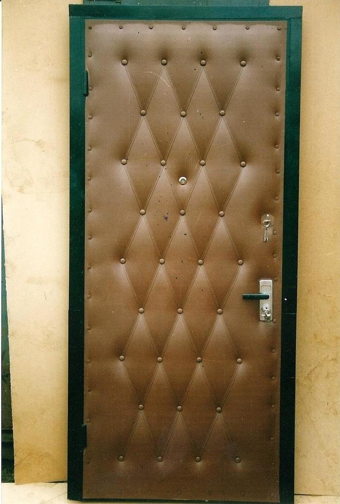 Эволюция входных дверей Ностальгия, 90-е, Дверь, Длиннопост