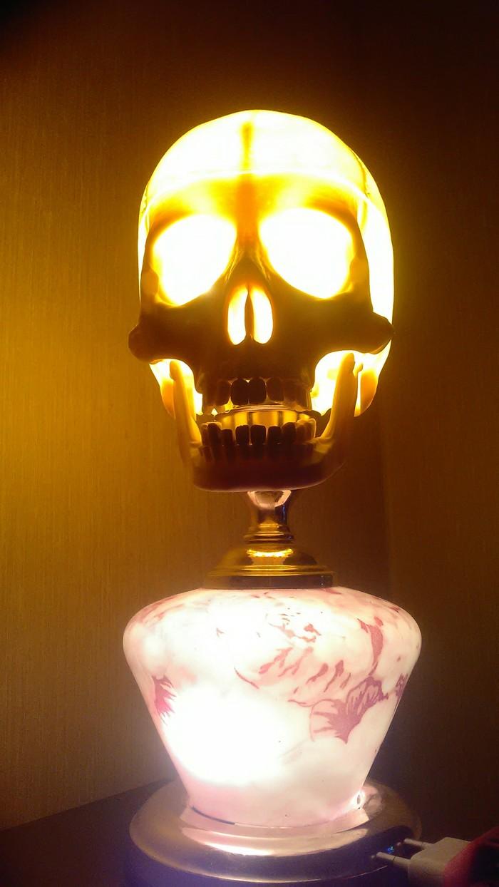Светлая голова Настольная лампа, Самоделки, Длиннопост