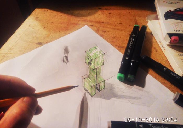 Когда слишком увлекся 3D рисованием.. Кривая линия, Рисунок, 3D рисунок, Как научиться рисовать?, Видео
