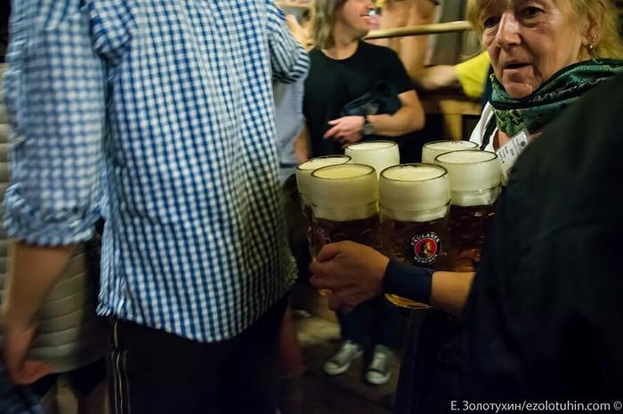 Как на самом деле выглядит Октоберфест. Октоберфест, Бавария, Пиво, Длиннопост, Честно украдено