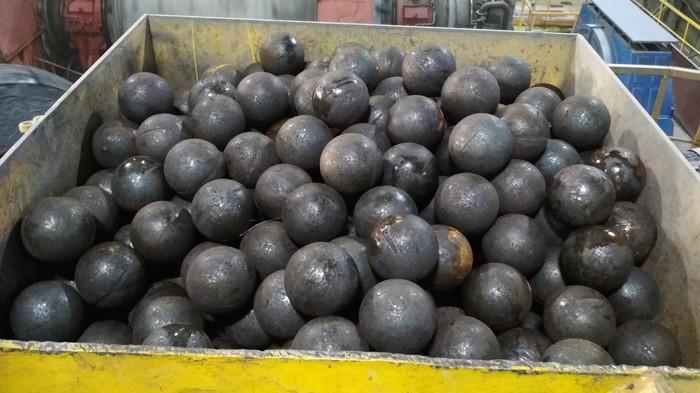 Стальные яйца мужиков обогатительной фабрики. НОК, Мельница, Шары, Длиннопост