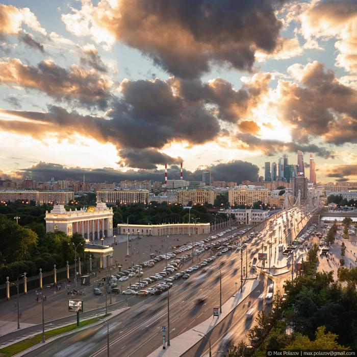 Москва. Август. Длиннопост, Фотография, Max Polazov, Крыша, Высота, Москва