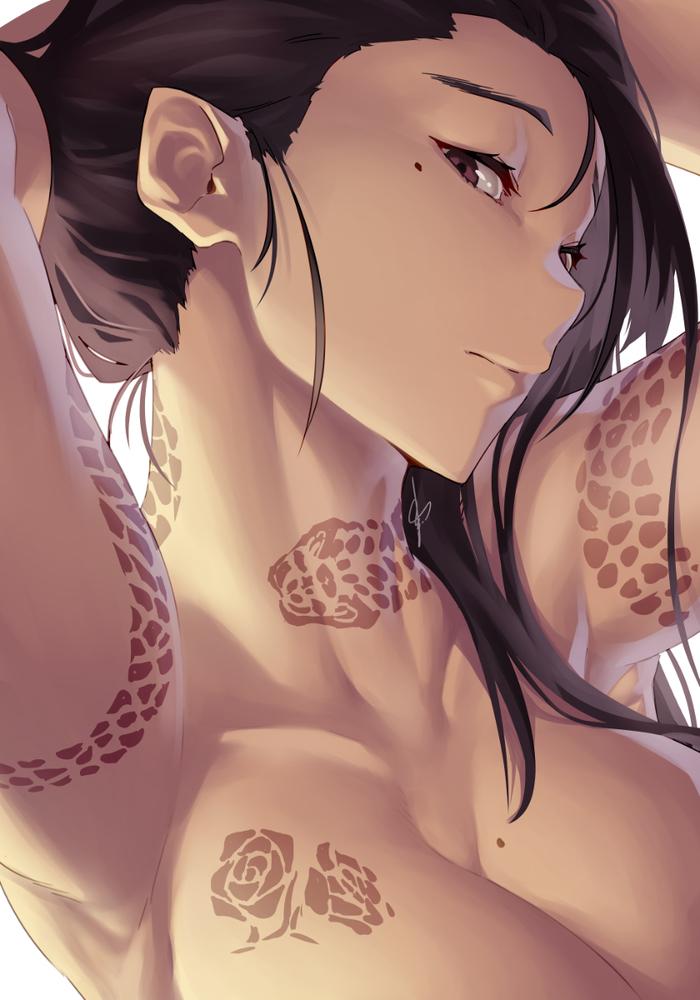 Рисованных вкусностей вам в ленту Anime Art, Длиннопост, Девушки