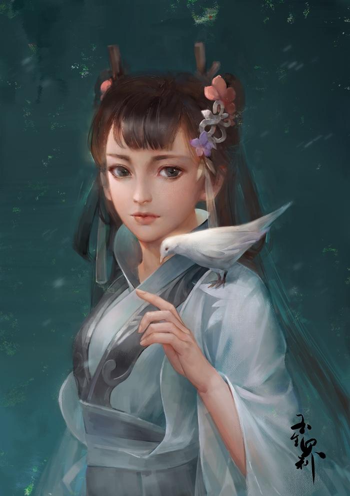 Art byHuyen Le Арт, Anime Art, Huyen Le, Длиннопост