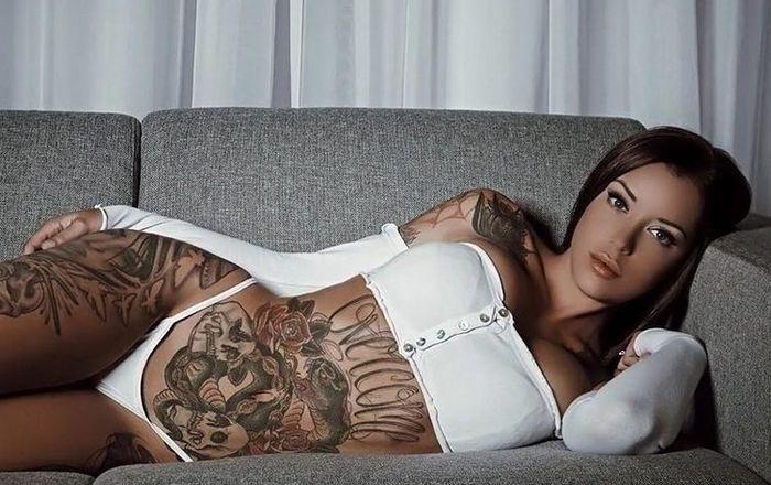 Подборка татуировок 12+ Девушки, Тату, Красивое, Не клубничка, Длиннопост
