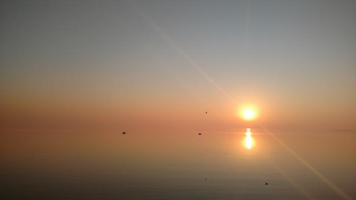 Утренний Днепр Утро, Днепр, Черкассы, Пейзаж, Фотография, Длиннопост