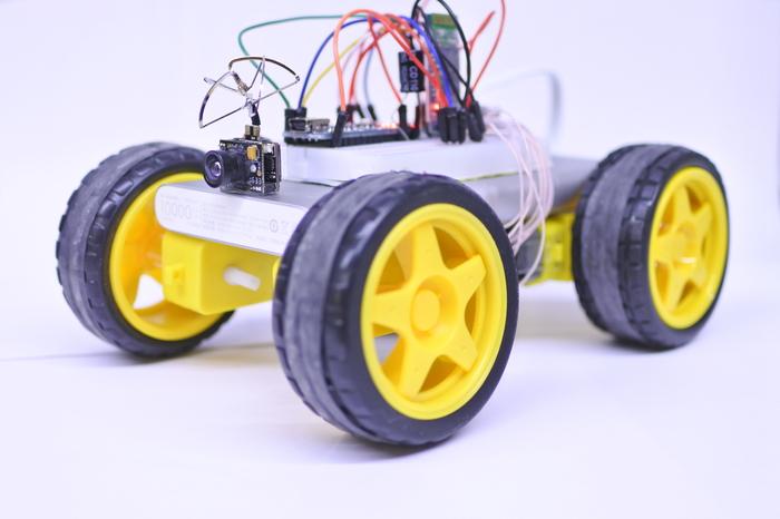 Bluetooth машинка с камерой на Arduino своими руками Своими руками, Arduino, Робототехника, Видео, Длиннопост