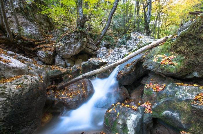 Большой каньон Крыма Pentax, Крым, Горы, Река, Начинающий фотограф, Длиннопост