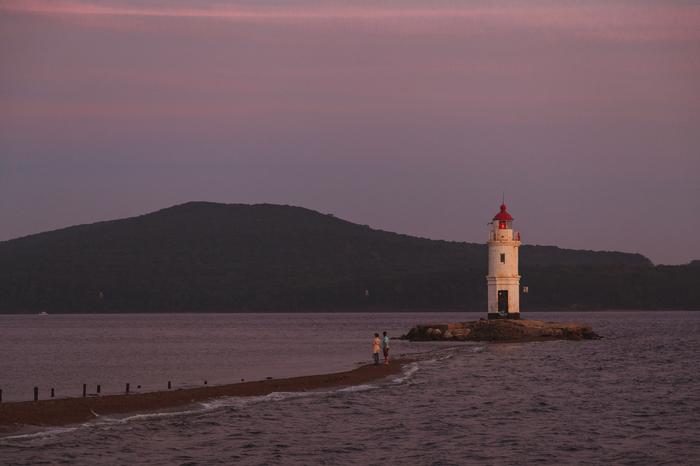 Приморский край: море, маяки, мосты Приморский край, Владивосток, Маяк, Фотография, Путешествия, Природа, Дальний восток, Длиннопост