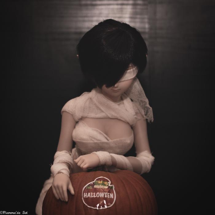 DDream - Day 31- Final - Halloween! DollfieDream, Хэллоуин, Шарнирная кукла, Тыква, Фотография, Хобби, Аниме