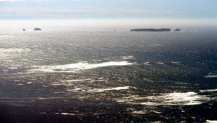 В районе Курил исчез японский остров Япония, Остров, Курильские острова, Россия, Вести