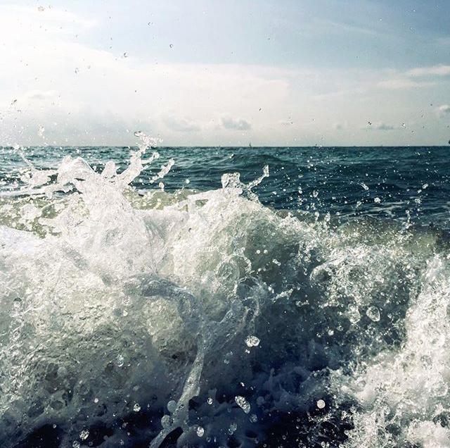 Немного моря Море, Волна, Длиннопост, Зима близко