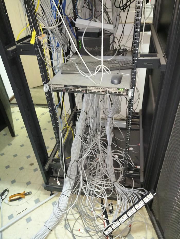 Наведение порядка в серверной Менеджмент, Серверная, Сисадмин, Длиннопост