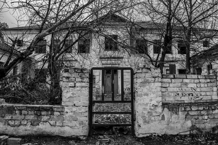 Чёрно-белое Дзержинск, Длиннопост, Фотография, Canon 1300d, Заброшенное