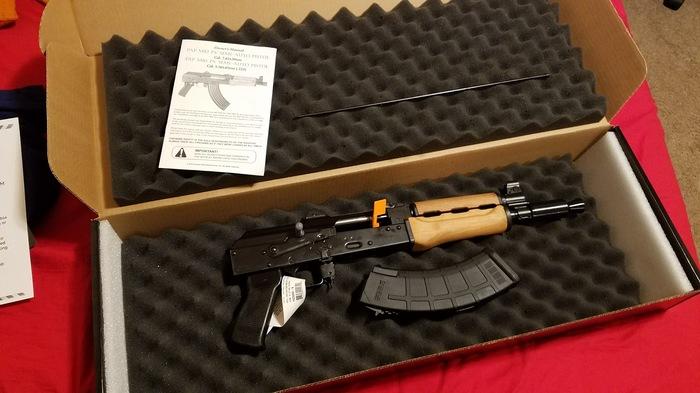 Один из моего домашнего арсенала(Zastava PAP M92 PV 7.62x39) Оружие, Калашников, 762х39мм, Пистолеты, Длиннопост