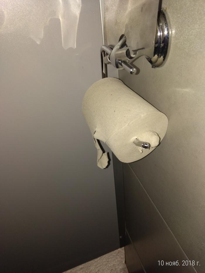 Нету втулки? Не беда!!! Туалетная бумага, Втулка, Сила есть ума не надо, И так сойдет