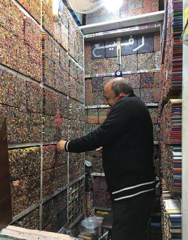Магазин карандашей , Иран