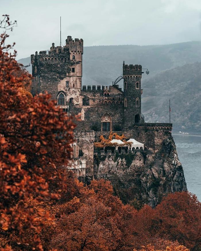 Замок в Германии.