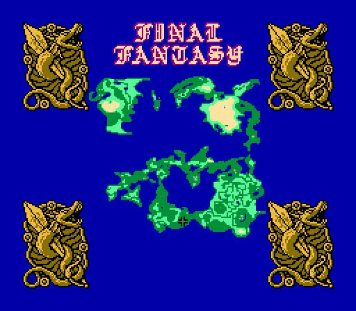 Final Fantasy. Часть 2. 1987, Прохождение, Final Fantasy, Famicom, Nes, JRPG, Длиннопост