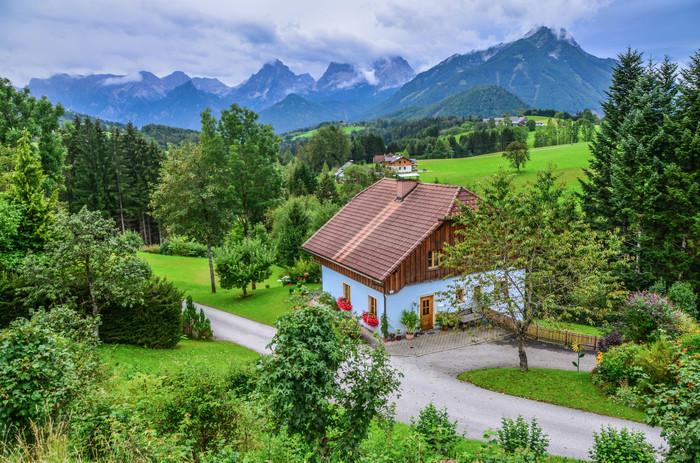Фордерштодер. Альпы, Австрия, Природа, Фотография