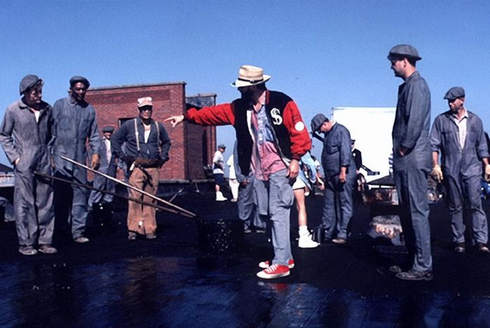 Фотографии со съемок фильмаПобег из Шоушенка 1994 год Фотография, Фильмы, Побег из Шоушенка, Стивен Кинг, Морган Фримен, Рита Хейворт, Длиннопост