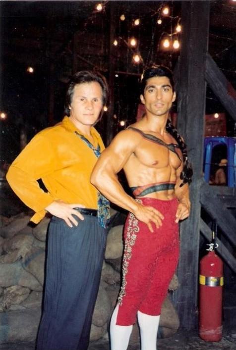 Фотографии со съемок фильмаУличный боец 1994 год Фотография, Фильмы, Уличный боец, Street Fighter, Жан-Клод Ван Дамм, Кайли миноуг, Интересное, Длиннопост