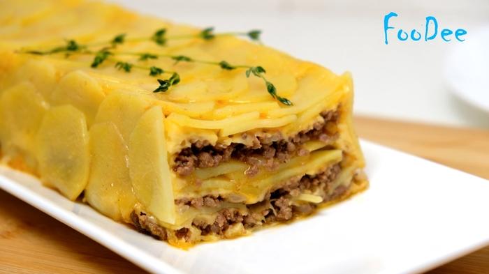 Картофельная запеканка с фаршем и сыром Рецепт, Запеканка, Кулинария, Еда, Видео, Длиннопост