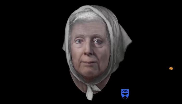 По черепу реконструировали облик ведьмы, приговоренной к казни в 1704 году Антропология, Реконструкция, Ведьмы, Суеверия, Видео