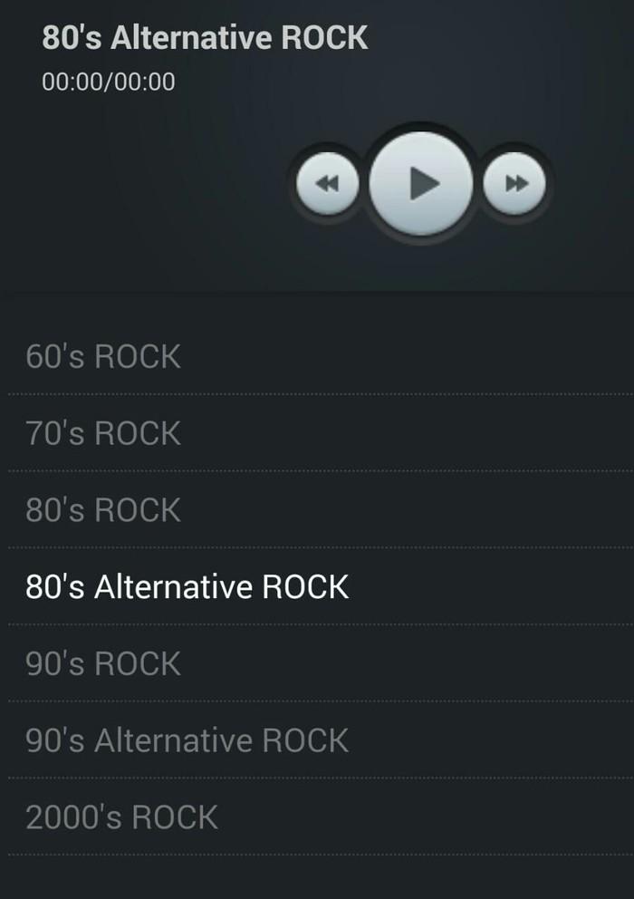 Rock Radio (опрос) Интернет-Радио, Приложение на android, Рок, Длиннопост