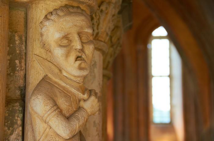 Тяжёлый денёк Фотография, Скульптура, Франция, Монастырь