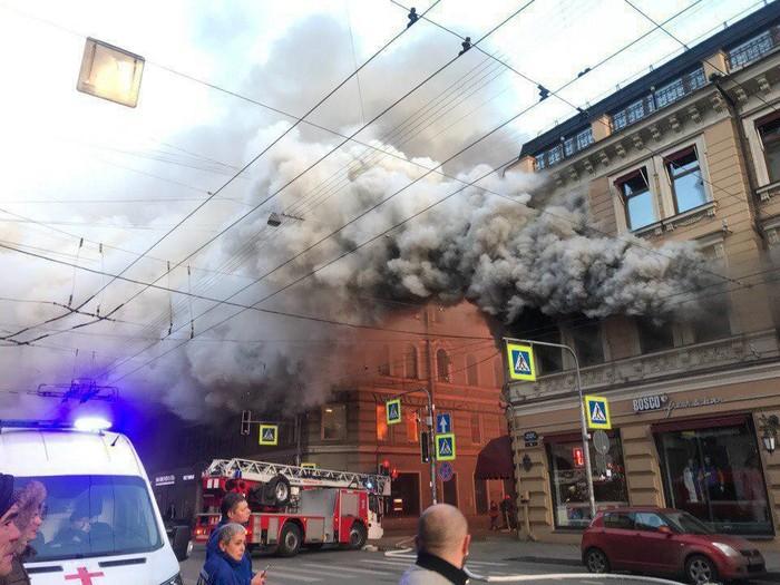 Пожар Пожар, Санкт-Петербург