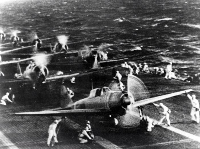 """Mitsubishi A6M2 Zero (aka """"САМЫЙ ИЗВЕСТНЫЙ САМОЛЕТ НА ТИХООКЕАНСКОМ ТЕАТРЕ ВОЕННЫХ ДЕЙСТВИЙ"""") перед налетом на Перл-Харбор. Авиация, Япония, Вторая мировая война, Перл Харбор, A6M Zero, B5N2 Kate, Длиннопост"""
