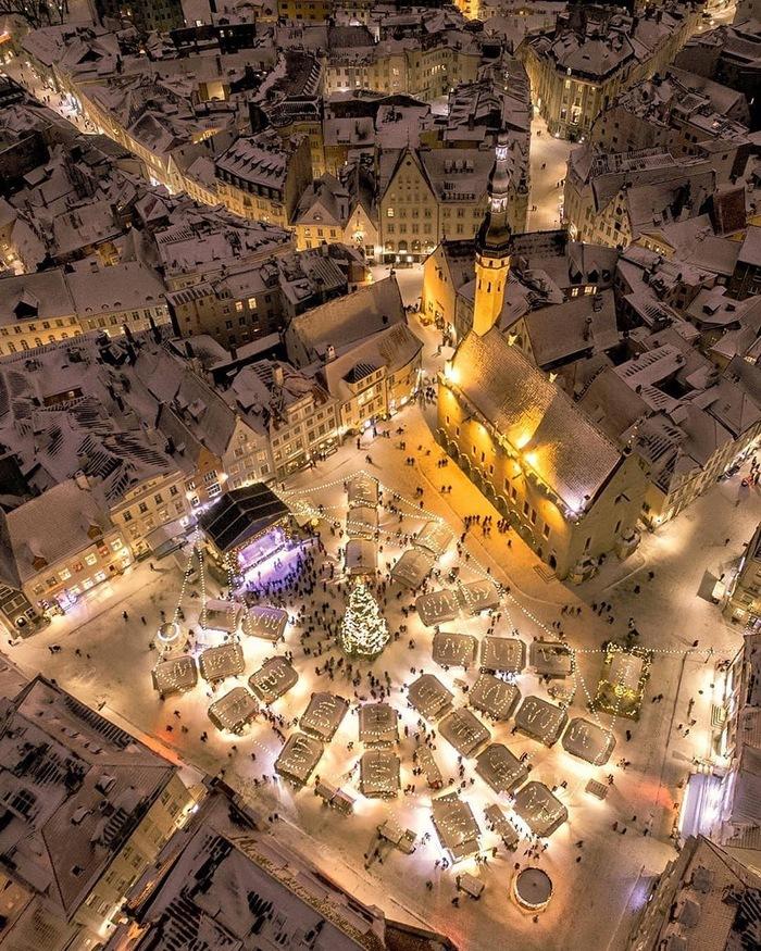 Рождественская ярмарка , Таллин Рождество, Эстония, Таллин, Фотография