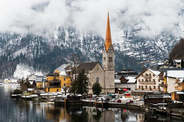 Халльштатт. Австрия.