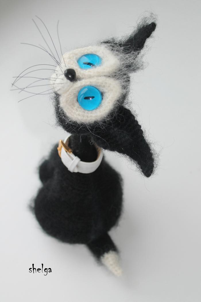 Коты Кот, Авторская игрушка, Вязание, Рукоделие без процесса, Своими руками, Длиннопост