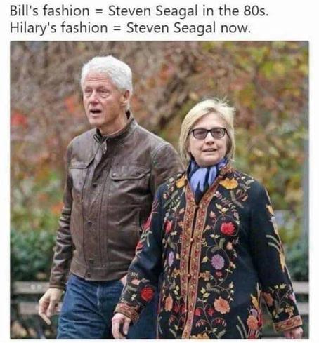 Клинтоны и Стивен Сигал Стивен Сигал, Мода, Клинтон, Картинка с текстом
