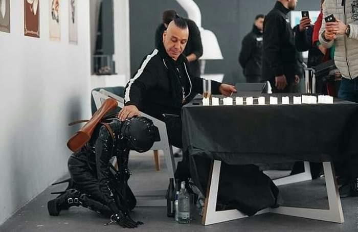 Тиль возит с собой рабыню на автограф сессию по странам снг. Rammstein, СНГ, Рабы, Тилль Линдеманн