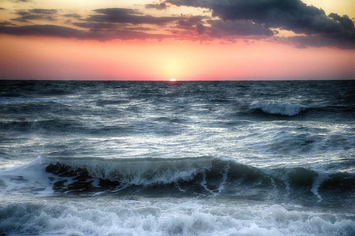Крымский закат Закат, Море, Крым, Лето