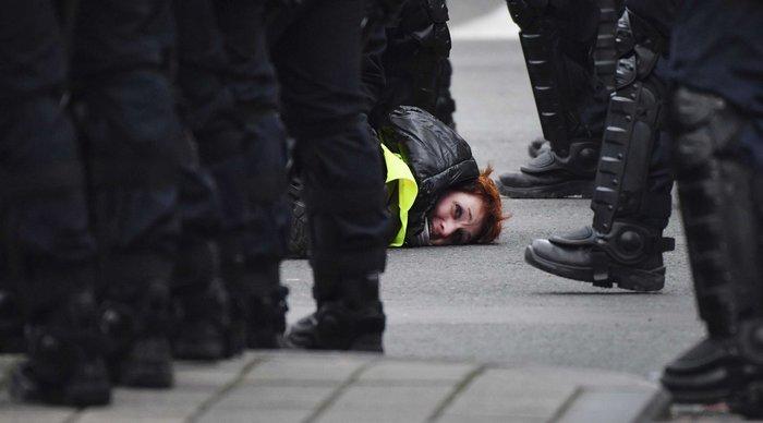 Пара клевых фоток с протестов Франция, Политика, Протест, Длиннопост