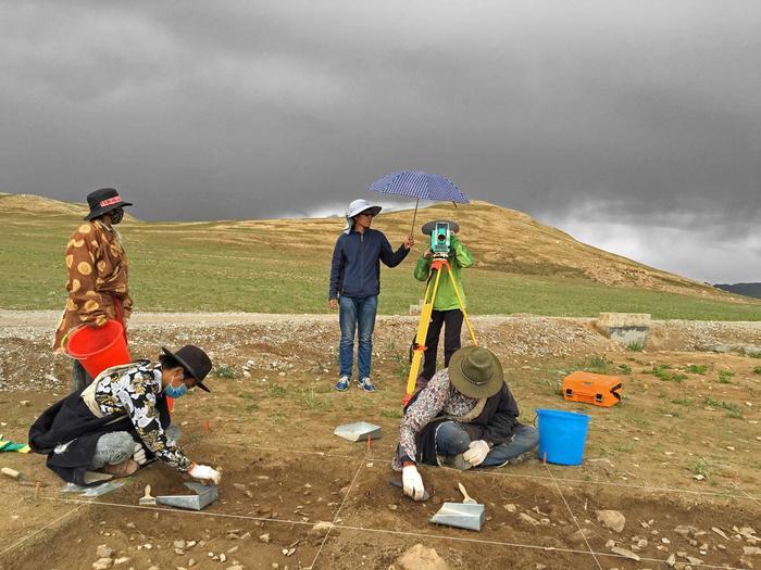 Люди жили на Тибетском нагорье уже 30–40 тысяч лет назад Антропология, Археология, Каменные орудия, Наука, Тибет, Копипаста, Elementyru, Длиннопост