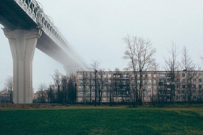 Канонерский остров, Санкт-Петербург.