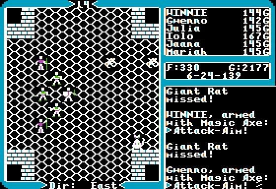 Ultima V: Warriors of Destiny. Часть 3. Глубины подземелий. 1988, Прохождение, Ultima, RPG, Открытый мир, Ретро-Игры, Origin, Apple II, Длиннопост