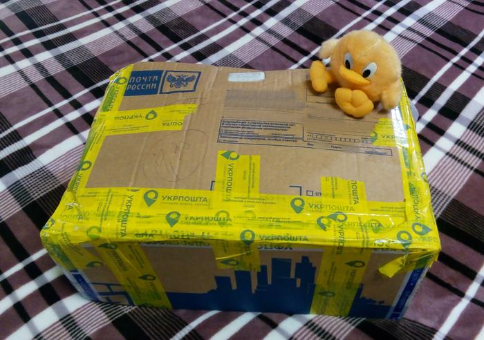 Спасибо тайный Санта. Подарочек из Краснодара в Харьков. Обмен подарками, Отчет по обмену подарками, Новый Год, Подарок, Обмен, Тайный Санта, Длиннопост
