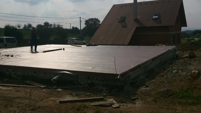 Как мы строились. 11,3x13,1 м бунгало. Строительство дома, Фото-Отчет, Длиннопост
