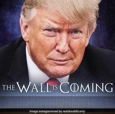 Трамп троллит мексиканцев, публикуя в инстаграме свой мем Политика, Трамп, Мемы, Мексика, Юмор, Троллинг, Тролль
