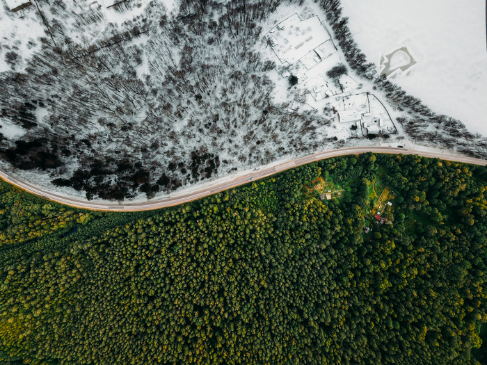 Лето и зима . Djimavicpro, Ленинградская область, Photoshop