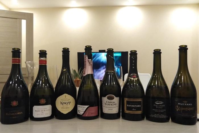 Дегустация российского шампанского Вино, Российское шампанское, Игристые вина